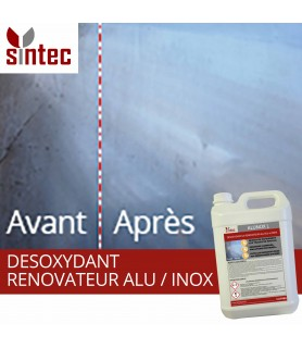 ALUNOX desoxydant rénovateur aluminium inox