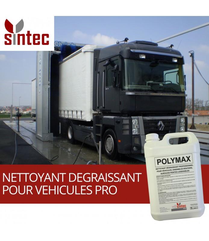 POLYMAX - Nettoyant dégraissant professionnel pour véhicules et surfaces peintes lessivables