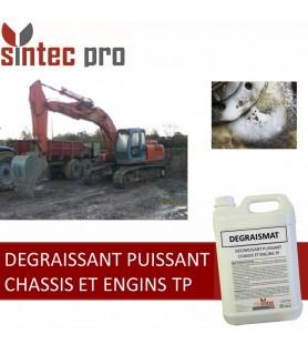 DEGRAISMAT DEGRAISSANT PUISSANT CHASSIS ET ENGINS TP