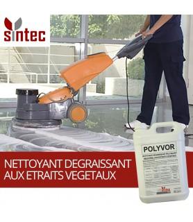 POLYVOR - Nettoyant dégraissant polyvalent industriel aux extraits végétaux