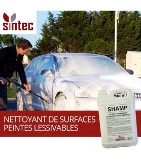 SHAMP - Nettoyant professionnel des surfaces peintes lessivables
