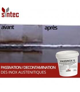 PASSINOX Gel - Gel nettoyant pour la décontamination et la passivation des inox austénitiques